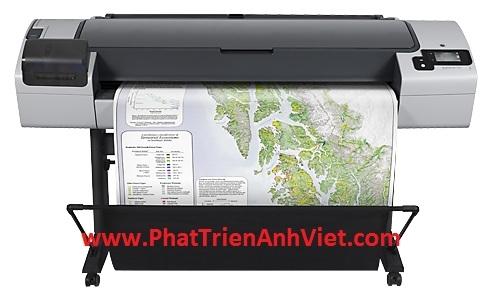 Máy in khổ lớn HP DesignJet T795 44-in A0 A1 A2 ePrinter – CR649C