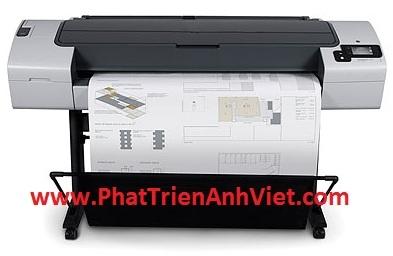 Máy in màu khổ lớn HP Designjet T790 44-in Printer khổ giấy in A0 A1 A2