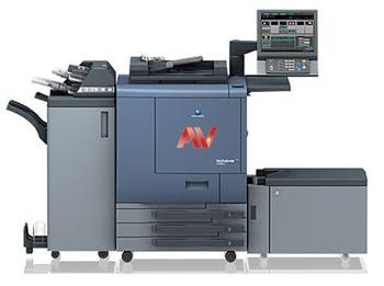 Máy in nhanh Máy in công nghiệp Máy Photocopy Màu Konica C6000 C7000