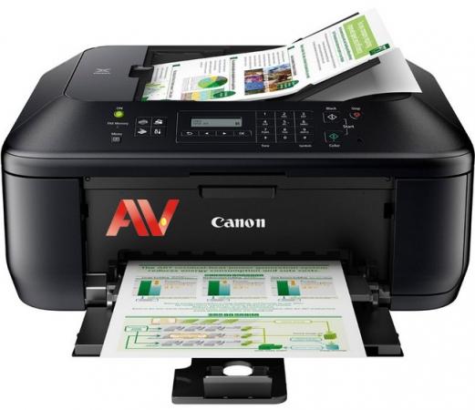 Máy in Phun Đa năng Màu - khổ A4 - MX397 Print - Scan - Copy - Fax Canon Pixma MX 397