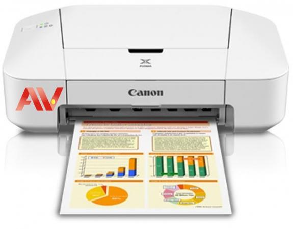 Máy in phun màu Canon PIXMA iP2870s khổ giấy A4
