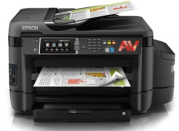 Máy in phun màu đa chức năng Epson L1455 (In, Scan, Copy, Fax với ADF, có hệ thống tiếp mực ngoài chính hãng.)