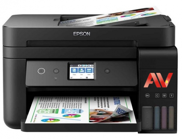 Máy in phun màu đa chức năng không dây EPSON L6190 (Copy, In, Scan, WiFi, Fax, Duplex)