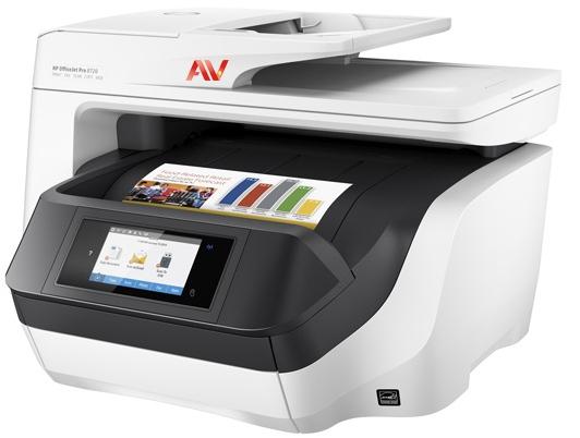 Máy in phun màu đa chức năng không dây HP OfficeJet Pro 8730 AIO (D9L20A)