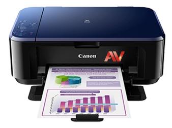 Máy in phun màu khổ giấy A4 Canon E560 (Print/ Copy/ Scan)