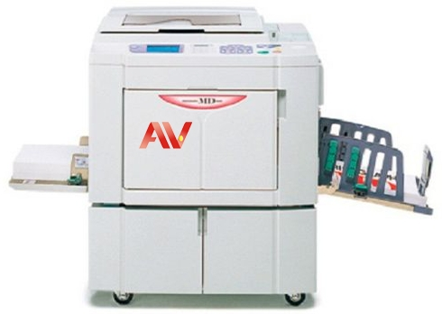 Máy in siêu tốc 02 drum A3 Riso Md 5650 Md 5450 600 dpi 150ppm máy photocopy siêu tốc Riso MD-5650 MD5650 MD-5450 MD5450