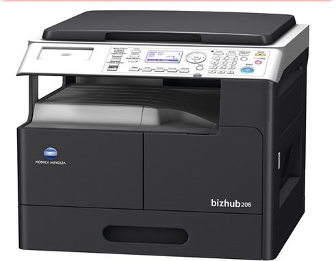 Máy Photocopy Konica Minolta Bizhub 206 trọn bộ DF625, Duplex AD509
