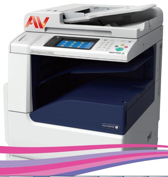 Máy photocopy màu FUJI XEROX Docucentre-V C2263 CP hàng chính hãng