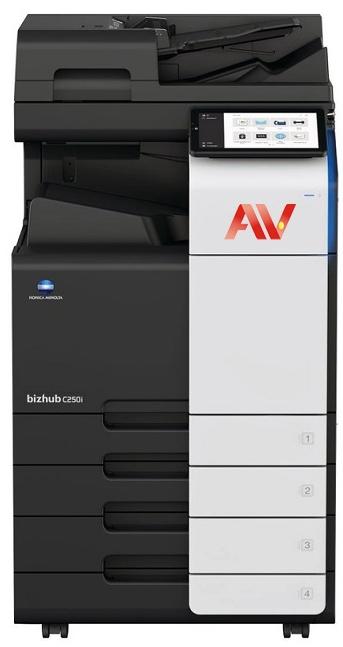 Máy Photocopy màu KONICA MINOLTA Bizhub c250i 250i C258e C258 258e