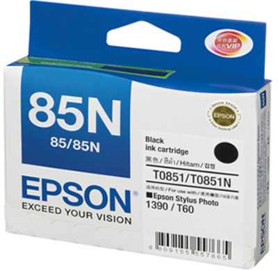 Mực in Epson C13T122100 Black