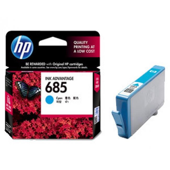 Mực in HP 685 Cyan Ink Cartridge (CZ122AA)