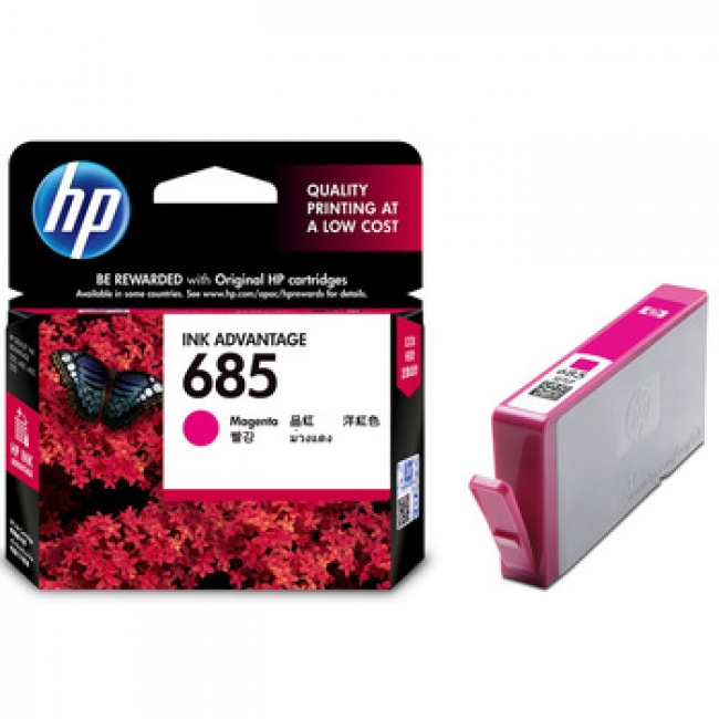Mực in HP 685 Magenta Ink Cartridge (CZ123AA)