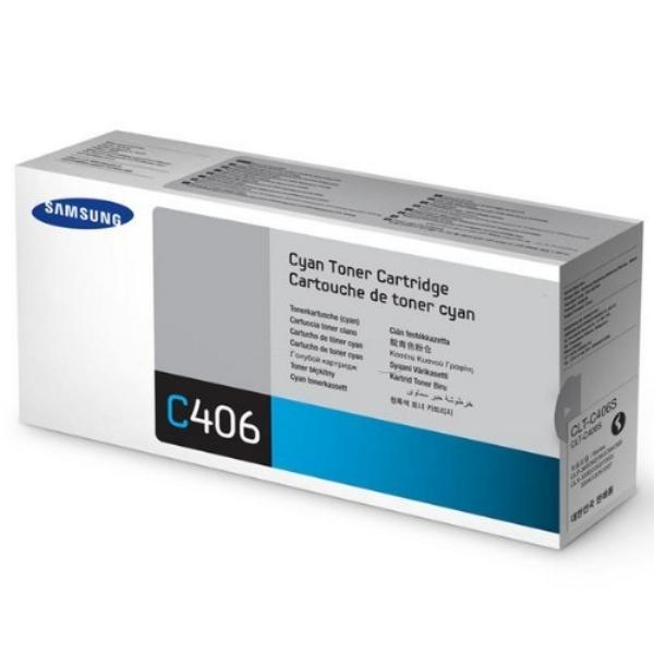 Mực in laser màu Samsung CLT-K406S (Xanh)
