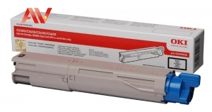 Mực in Oki C3300n/C3400n/C3600n Black Genuine Toner Cartridge ( p/n 43459456) chính hãng giá rẻ
