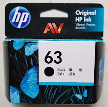 Mực in phun HP 63 Black Original HP Ink Cartridge ( PRODUCT F6U62AA)