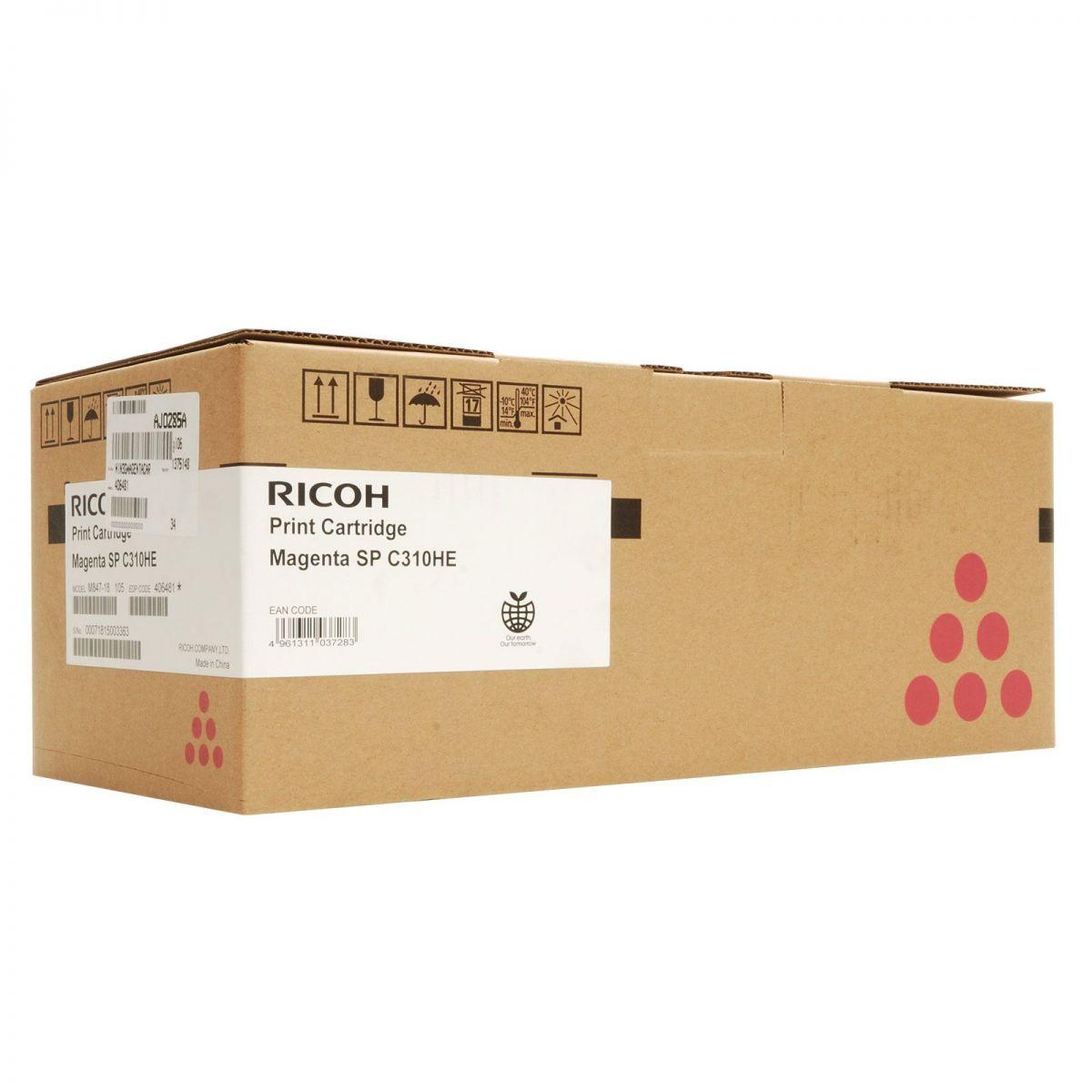 Mực in Ricoh C310S - 406354 Magenta