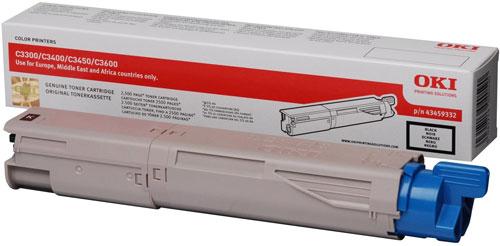 Mực laser màu Oki C3600 Black Toner 1.5K