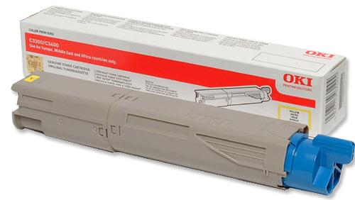 Mực laser màu Oki C3600 Yellow Toner 1.5K