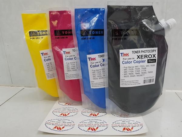 Mực màu đen nạp photocopy Fuji Xerox màu C3370/WC 7525/7530/7535/7545/7556/7830i/7835i/7845/7855-Japan