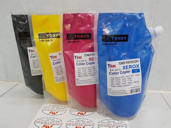 Mực màu Xanh nạp photocopy Fuji Xerox màu C3370/WC 7525/7530/7535/7545/7556/7830i/7835i/7845/7855-Japan
