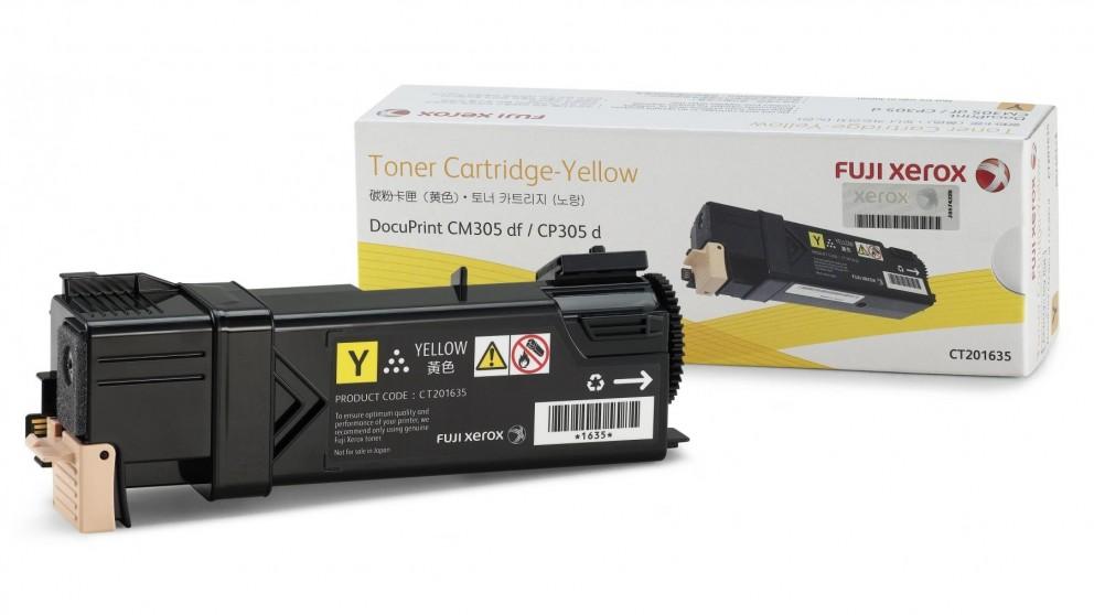 Mực máy in Xerox CP305D CM305DF CT201635 Yellow