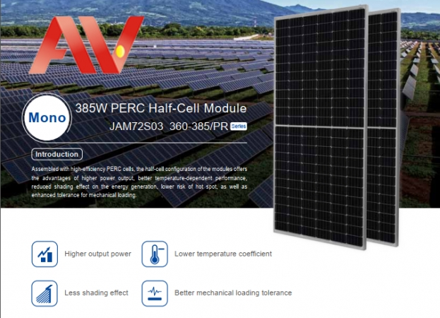 Pin mặt trời JA solar