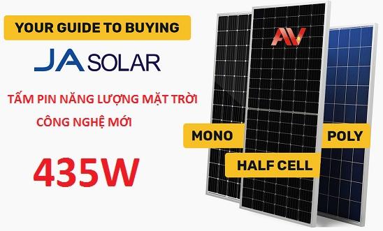 Tấm pin mặt trời Ja solar 435W