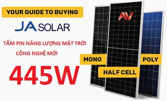 Tấm pin mặt trời Ja solar 445W
