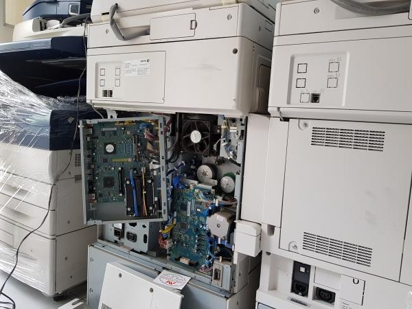 Tháo máy photocopy Xerox hàng gỡ máy hàng zin theo máy hàng chính hãng tháo máy FujiXerox coier
