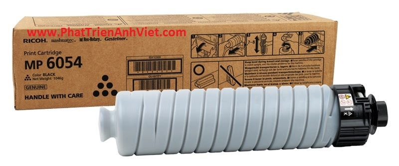Toner Mực 6054 for Ricoh MP 4054 5054 6054 4054SP 5054SP 6054SP - Genuine Ricoh Black Toner (EDP 842000) Mực 4054 5054SP 6054SP